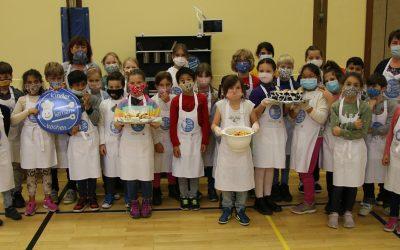 Kinder lernen kochen